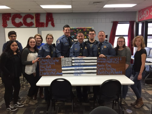 FCCLA Police Appreciation Dinner