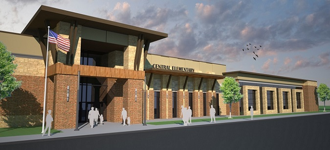 Bond Project - Central Elementary (Artistic Rendering)