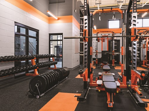 Field House Weight Room